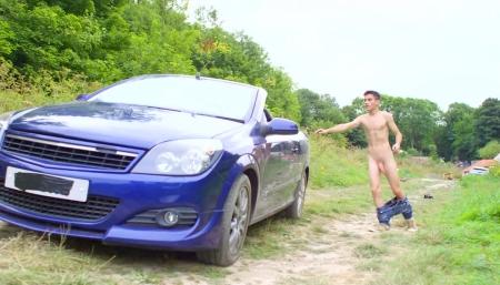 Порно видео на природе на дороге